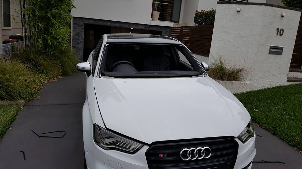 AUDI S3 windscreen repair