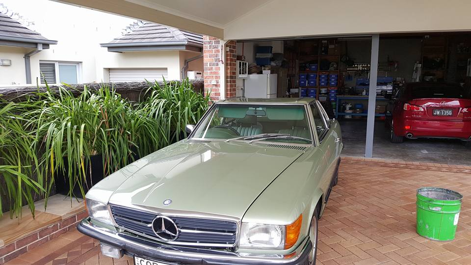 107 series mercedes benz